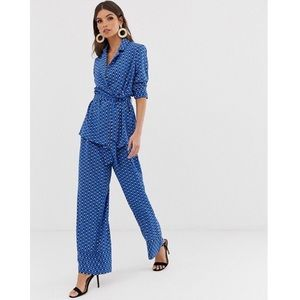 🆕 Y.A.S Belted Top & Tie-Waist Trousers from ASOS